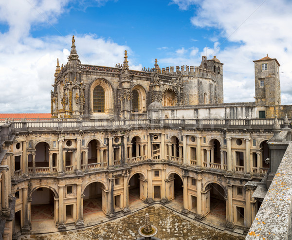 Knights of the Templar Convents of Christ Tomar Portugal Stock photo © vichie81