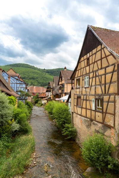 Kaysersberg Alsace France Stock photo © vichie81
