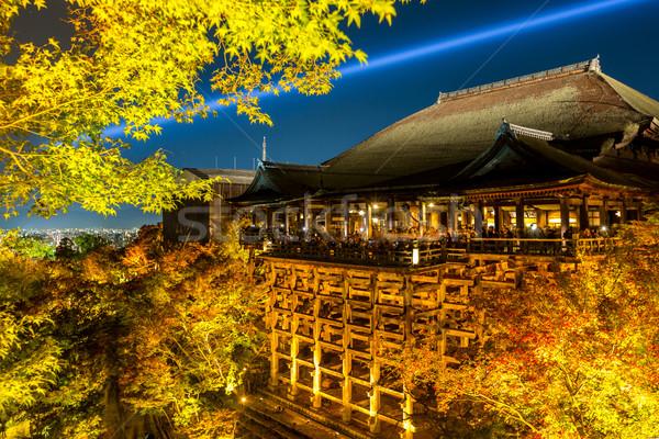 Kiyomizu-dera Temple Stock photo © vichie81