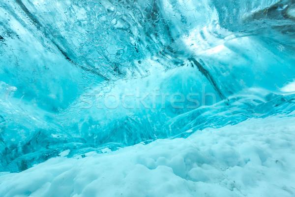 Ice wall texture Stock photo © vichie81