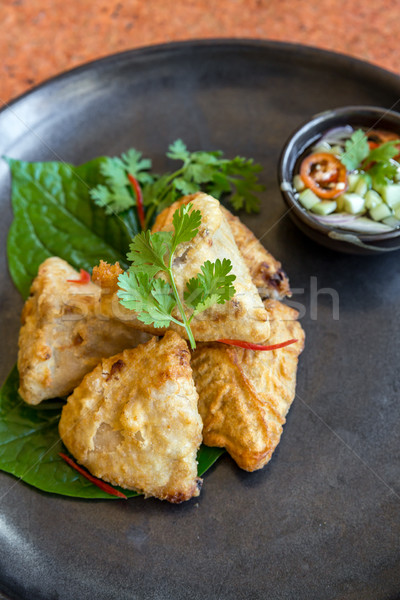 Fried taro Stock photo © vichie81