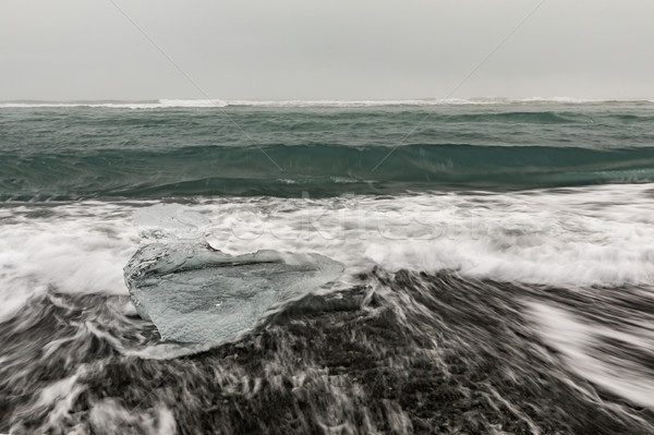 Iceberg Diamond beach Iceland Stock photo © vichie81