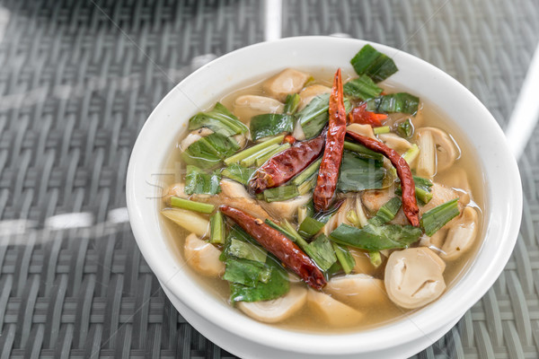 tom yum soup Stock photo © vichie81