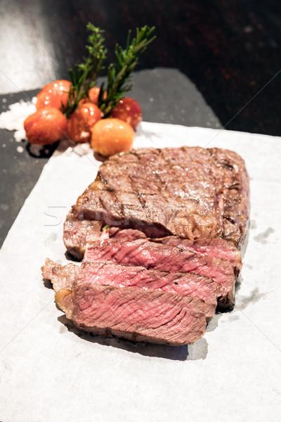 tenderloin beef steak Stock photo © vichie81