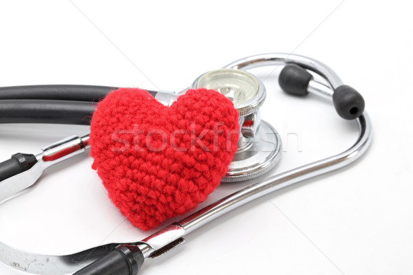 Stethoscope Heart  Stock photo © vichie81
