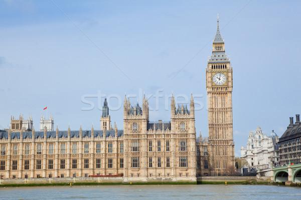Big Ben cidade westminster Londres paisagem inglaterra Foto stock © vichie81