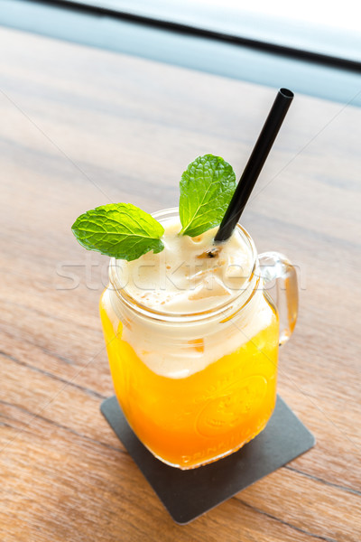 Ice Passionfruit tea Stock photo © vichie81