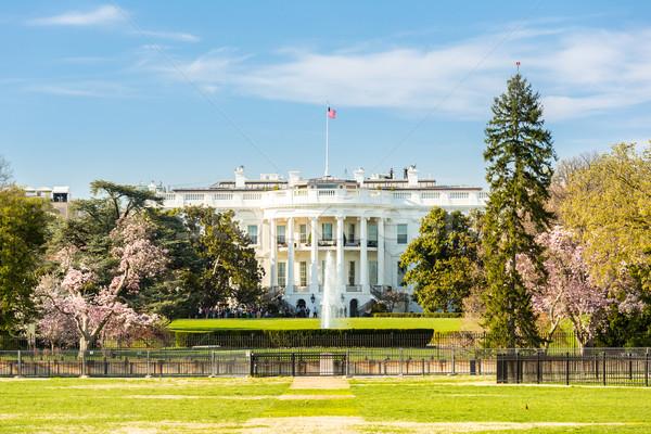 Casa bianca Washington DC Stati Uniti casa bianco america Foto d'archivio © vichie81