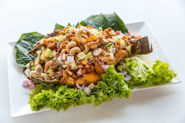 deep fried fish Stock photo © vichie81