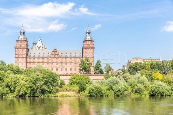 дворец Франкфурт дерево здании стены искусства Сток-фото © vichie81