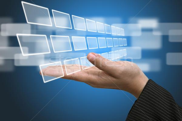 Technology Input Screen Interface  Stock photo © vichie81