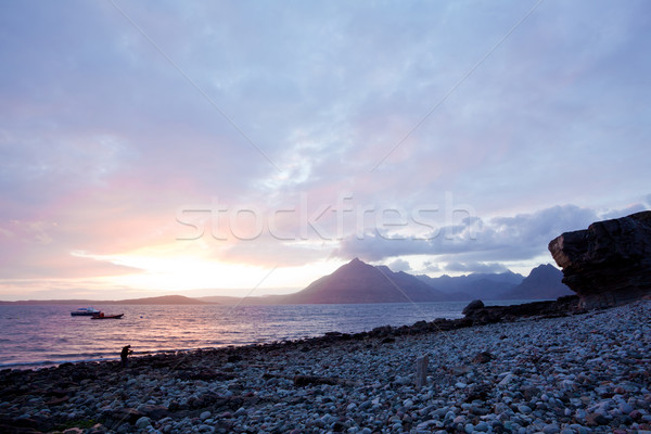 Elgol Isle of Skye Highland Scotland Stock photo © vichie81