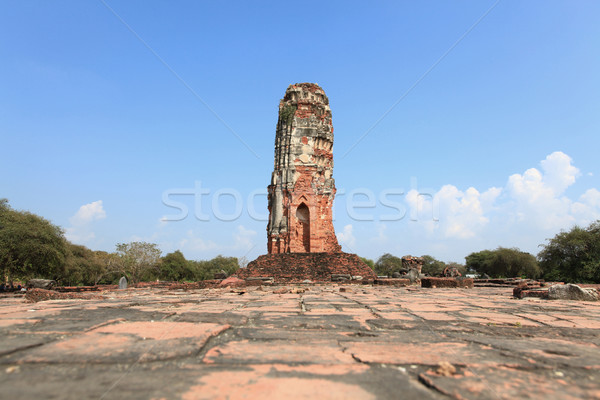 ruin of Temple Stock photo © vichie81