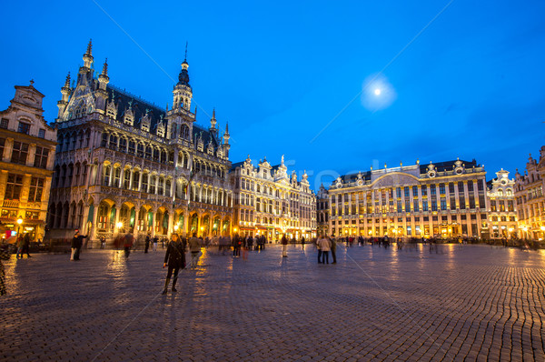 Grand Place Belgium Stock photo © vichie81