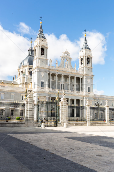 Royal Cathedral Madrid Stock photo © vichie81