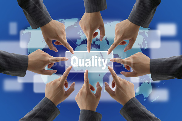 Quality Concept Stock photo © vichie81