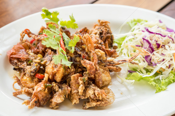 deep fried soft shell crab Stock photo © vichie81