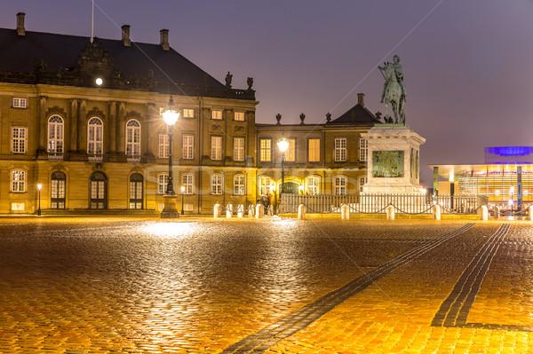 Denemarken koninklijk familie stad vierkante Kopenhagen Stockfoto © vichie81