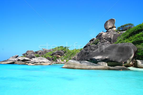 Similan National Park Andaman Sea Thailand Stock photo © vichie81