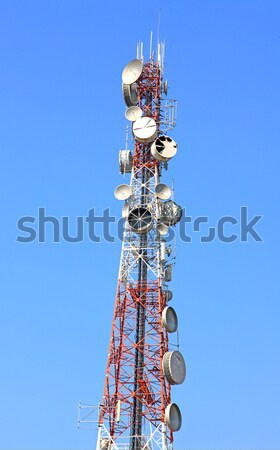 telecommunication tower Stock photo © vichie81