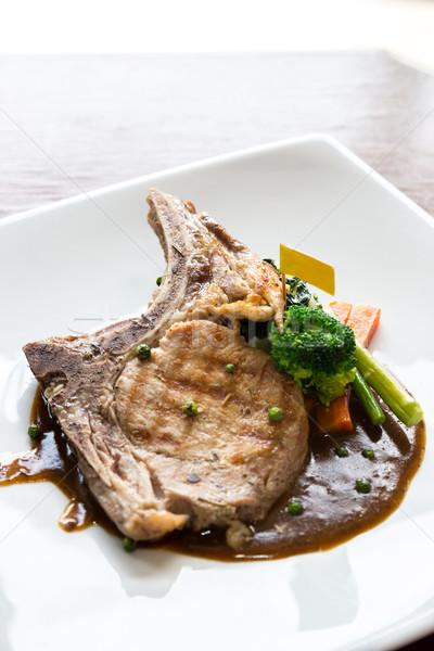 pork chop Stock photo © vichie81