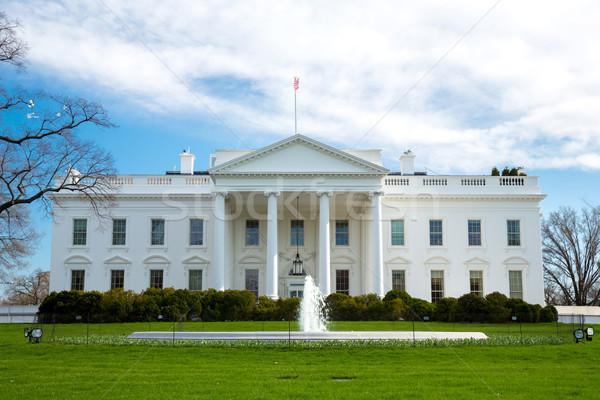 Casa blanca Washington DC Estados Unidos oficina casa ciudad Foto stock © vichie81