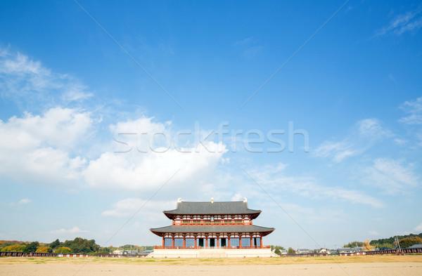 Stock photo: Nara Palace Japan