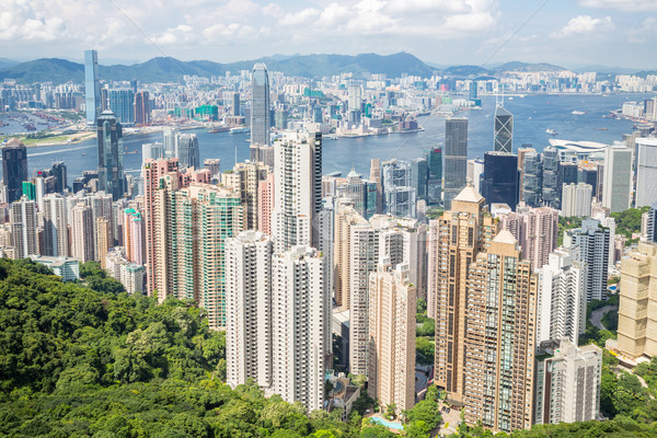 Victoria Peak Hong Kong Stock photo © vichie81