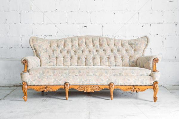 classical style Sofa Stock photo © vichie81