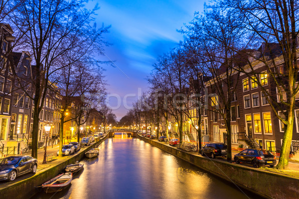 Amsterdam Canals Stock photo © vichie81