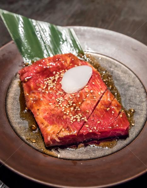 kalbi wagyu BBQ Yakiniku Stock photo © vichie81