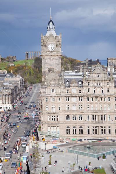 Stock photo: Edinburgh Skylines building