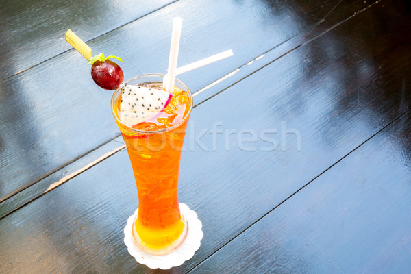 ice Earl grey tea Stock photo © vichie81