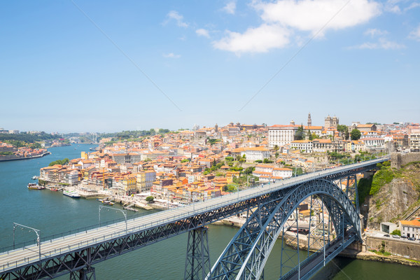 Dom Luiz bridge Porto Stock photo © vichie81
