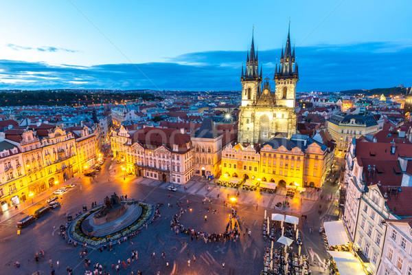 Old Town Square Prague, Czech republic  Stock photo © vichie81