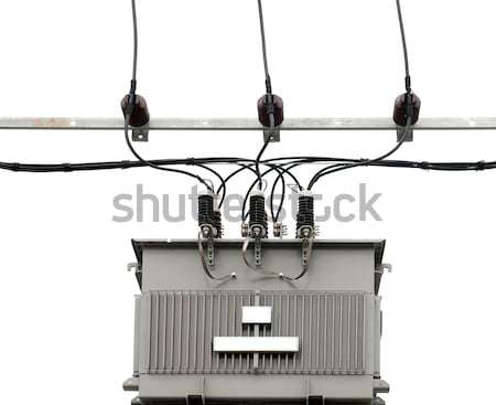 electric transformer Stock photo © vichie81