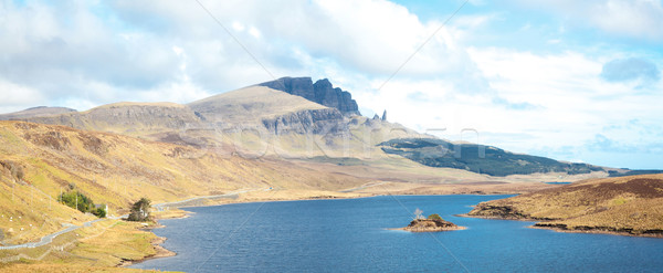The Old Man Of Storr Isle of Skye Highland Scotland Stock photo © vichie81