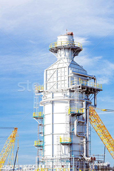 Industrial Tube factory Stock photo © vichie81