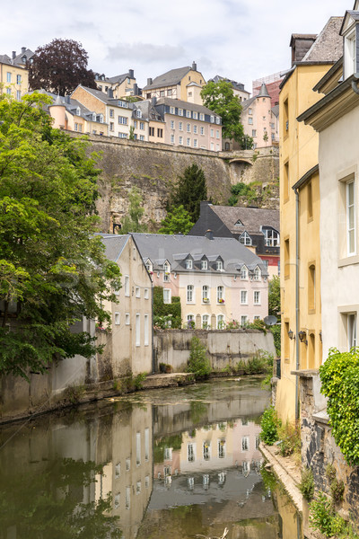 Luxembourg City, downtown Stock photo © vichie81