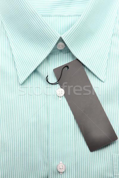 green business shirt Stock photo © vichie81