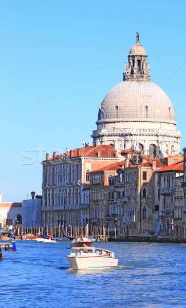Santa Maria Della Salute Venice Stock photo © vichie81