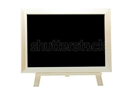 Fotó parafa tábla azonnali izolált fehér iroda Stock fotó © vichie81
