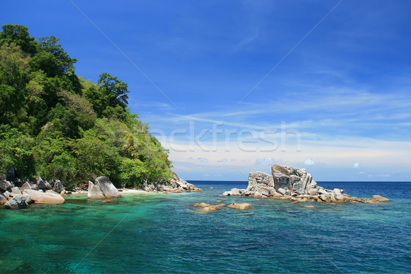 Andaman Sea Thailand Stock photo © vichie81