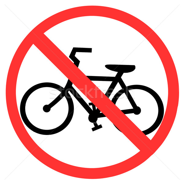 No Bicycle Stock photo © vichie81