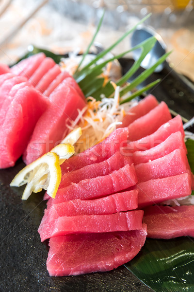 Otoro Tuna Sashimi Stock photo © vichie81