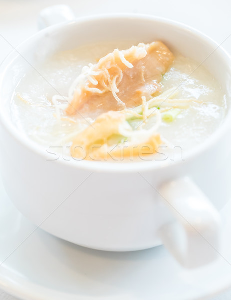 Congee Rice Porridge Stock photo © vichie81