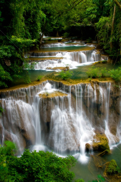 grand Tropical Waterfall Stock photo © vichie81