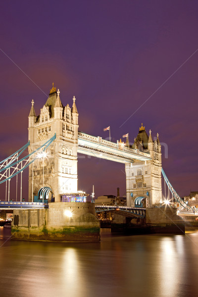 Londres Tower Bridge rio inglaterra Reino Unido Foto stock © vichie81