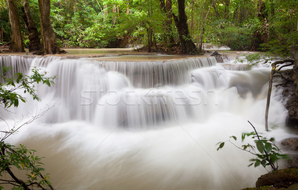 Tropical Waterfall Thailand Stock photo © vichie81