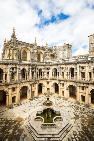 Convents of Christ Tomar, Lisbon Portugal Stock photo © vichie81